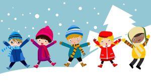 Niños invierno